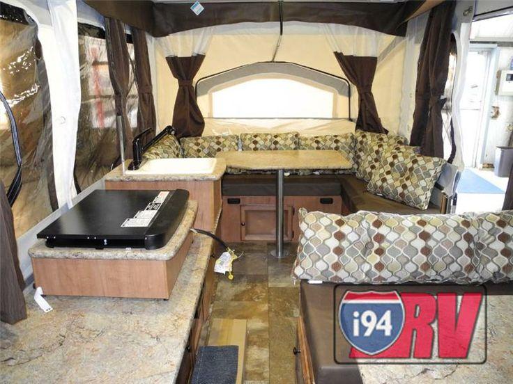 Palomino Basecamp Pop Up Camper Interior Lightweight