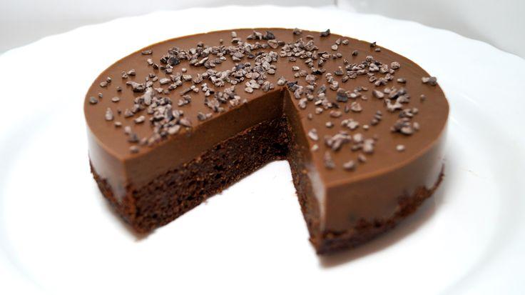 Полезный шоколадно - шоколадный диетический торт - диетические торты / диетические пирожные - Полезные рецепты - Правильное питание или как правильно похудеть