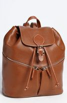 Longchamp Leather Backpack...want this!
