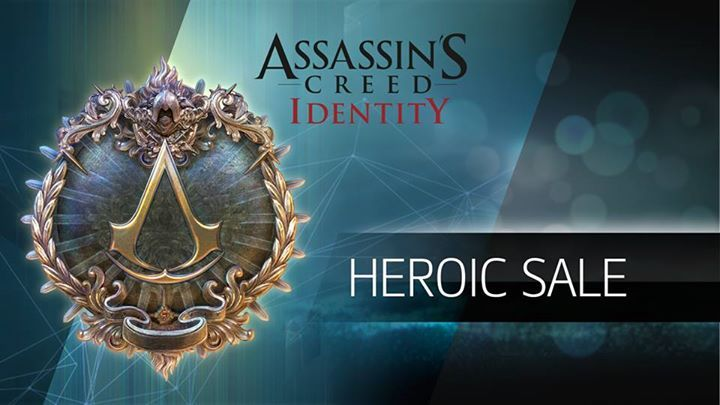 Assassins! For a LIMITED TIME, you have 50% off ALL items in the Heroic Shop. Hurry don't miss it! #assassinscreed #assassins  #assassin #ac #assassinscreeed2 #assassinscreedbrotherhood #assassinscreedrevelations #assassinscreed3 #assassinscreedblackflag #assassinscreedrogue #assassinscreedunity #assassinscreedsyndicate #altairibnlaahad #ezioauditore #connorkenway #edwardkenway #arnodorian #jacobfrye #eviefrye #GeekVerse