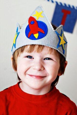 Uma coroa pra brincar!
