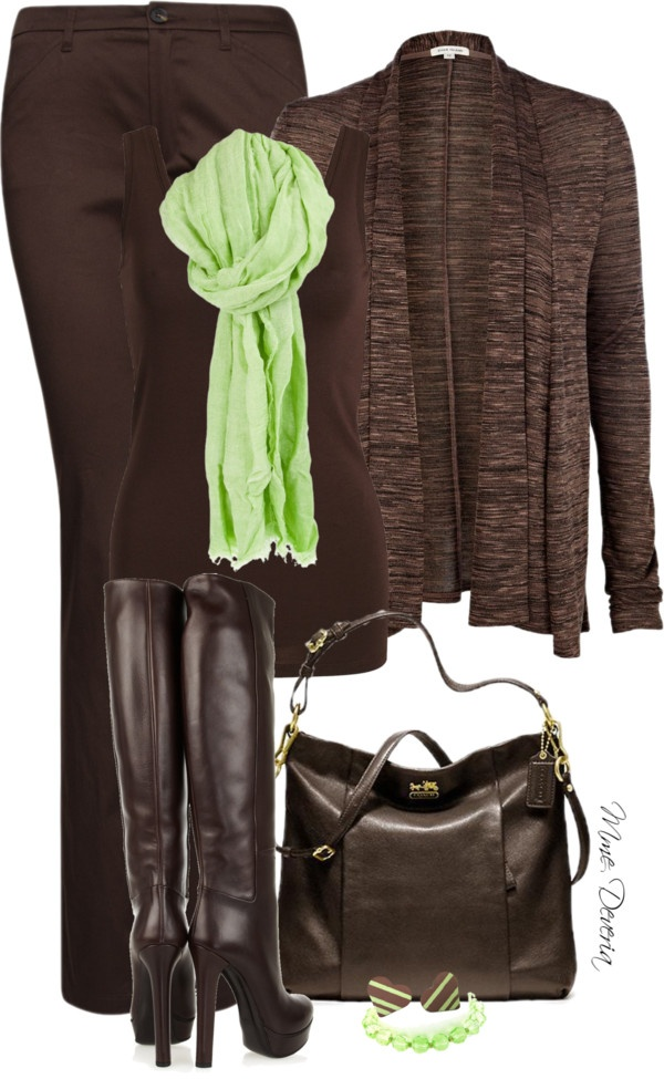 """Bitter chocolate with mint"" by madamedeveria on Polyvore"