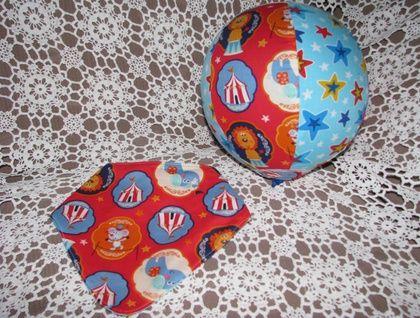 Balloon ball cover and reversible dribble bib set