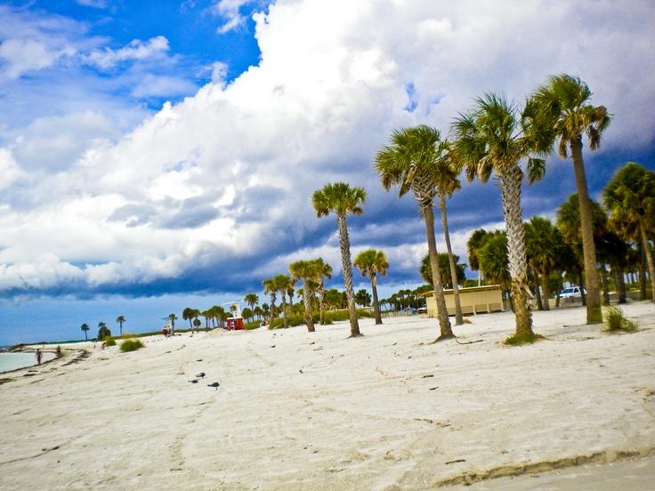 Tarpon Springs, Florida This is at Fred Howard Park.... I love this beach