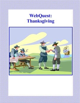 This is a web search designed to give students factual information about Thanksgiving Day as they read for information using the internet. The traditions and customs are discussed as the students learn the historical background. During the search they use a variety of strategies and skills that will build their