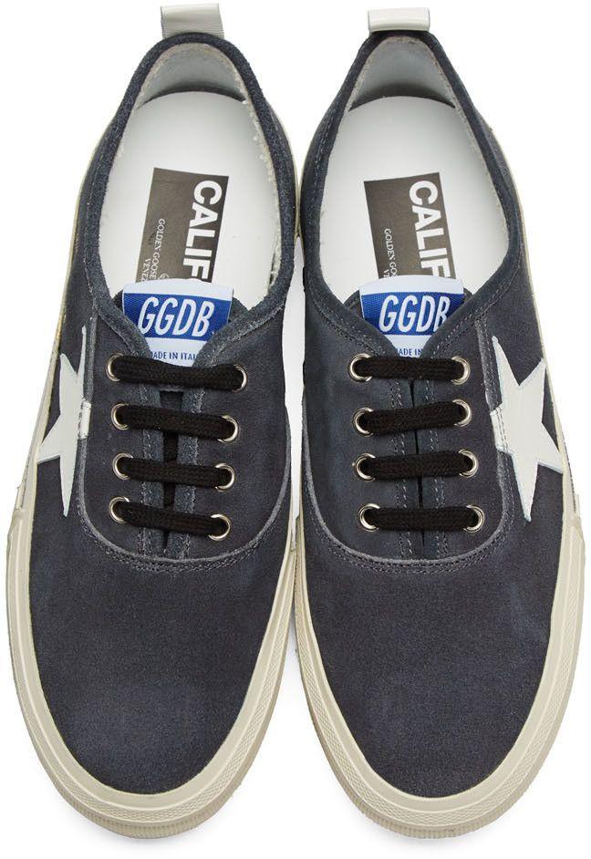 Golden Goose - Black Suede California Sneakers