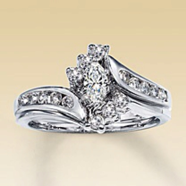 Kay Jewlers Engagement Ring Set With Wedding Band My Absolute Favorite Ring
