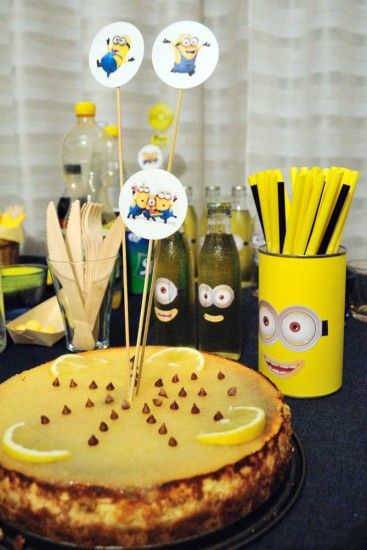 Minion Baby Girl Shower Food