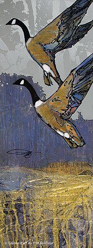 Jean-Pierre Guay, 'Nord-Est', 9'' x 24'' | Galerie d'art - Au P'tit Bonheur - Art Gallery