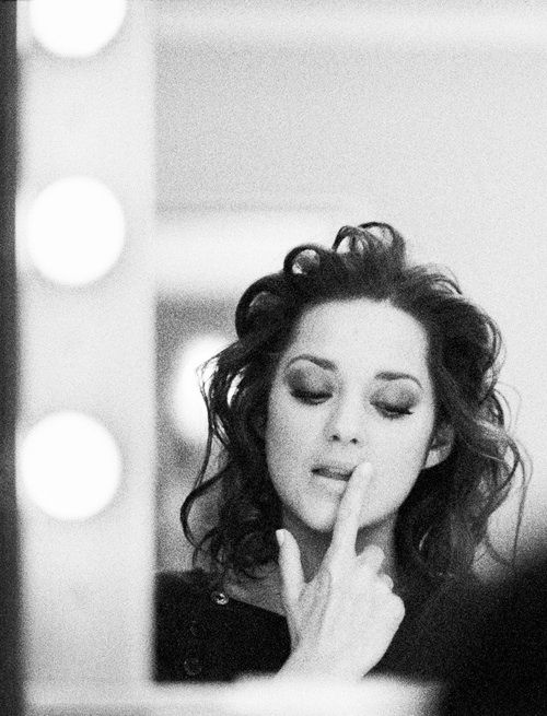 Marion Cotillard is perfect in every single way.