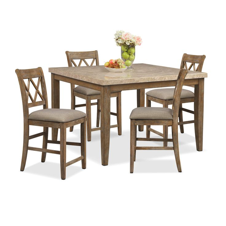 111 best images about farmhouse on pinterest farmhouse for Dining room tables value city