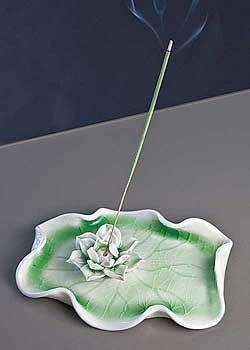 lotus blossom incense burner