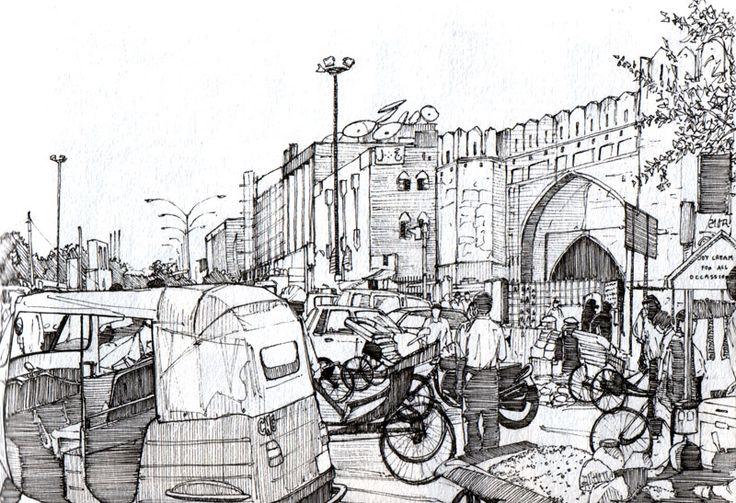 Turkoman Gate, Delhi by Edgeman13 on DeviantArt