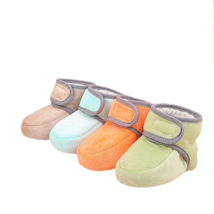 Inverno Quente Sapatos de bebê Bonito Meninos Meninas de Algodão Acolchoado Botas Bebê Recém nascido Primeiros Caminhantes Crianças Sapatos de Lã Macia e Quente em Primeiros Caminhantes de Mãe & Kids no AliExpress.com | Alibaba Group