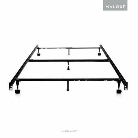 structures adjustable metal bed frame queen full xl full twin xl - Black Metal Bed Frame Queen