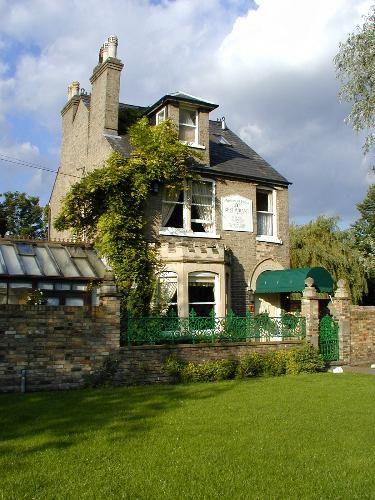 Midsummer House, a michelin starred restaurant on Midsummer Common, Cambridge.