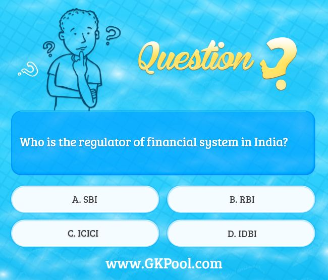 #Daily #Quiz: Who is the regulator of financial system in India?