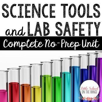 Science Tools and Lab Safety: This unit has been completely revised and reformatted for the new school year! New interactive activities have been added. This unit will keep your students engaged with hands-on activities. The science tools covered in this