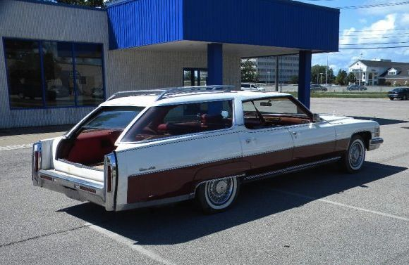 1974 Cadillac Station Wagon