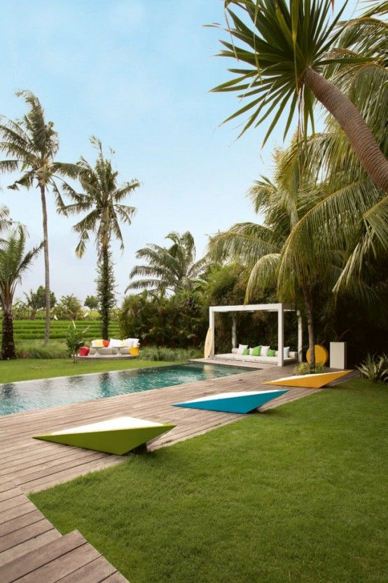 Bali House Designed In Colonial And Pop Art Style | by WOM