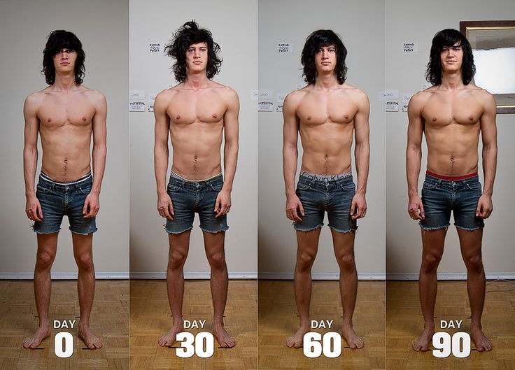 ... Muscular in a Matter of Months … without going crazy high protein