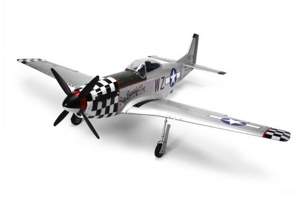 J-Power P-51 Mustang RC Airplane WWII Warbird PNP
