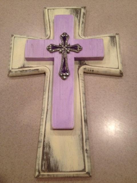 Custom Wooden Cross.