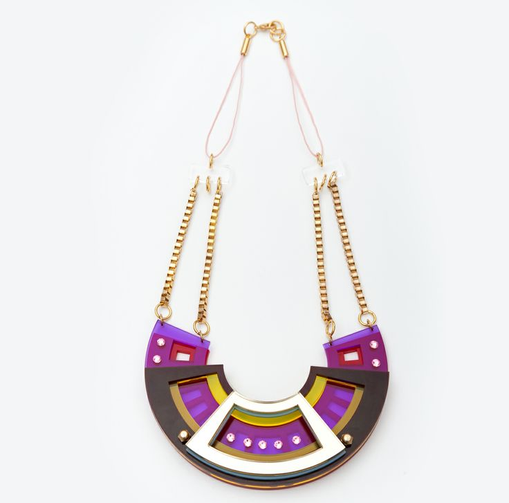 Best seller necklace . laser cut acrylic.