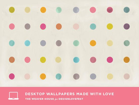 DRESS YOUR TECH / 07. rainbow dots. DesignLoveFest