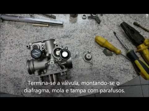 Reforma completa dos carburadores da XT 600 E 3TB - YouTube