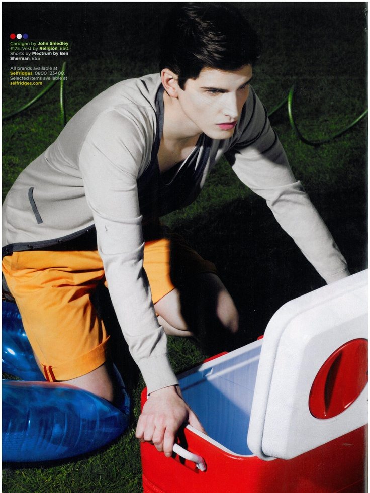 GQ - March 2012    Style Louie in Pumice