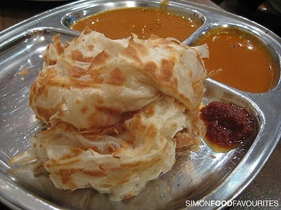 Roti with beef curry at mamak what a twist of indian for Roti food bar
