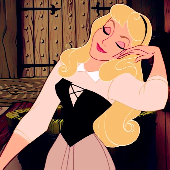 I feel i can relate to princess Aurora the most: quiet, loves animals and has no idea how important she is to others.