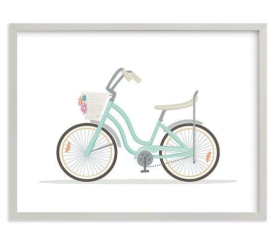 Banana Seat Bike Wall Art by Minted®