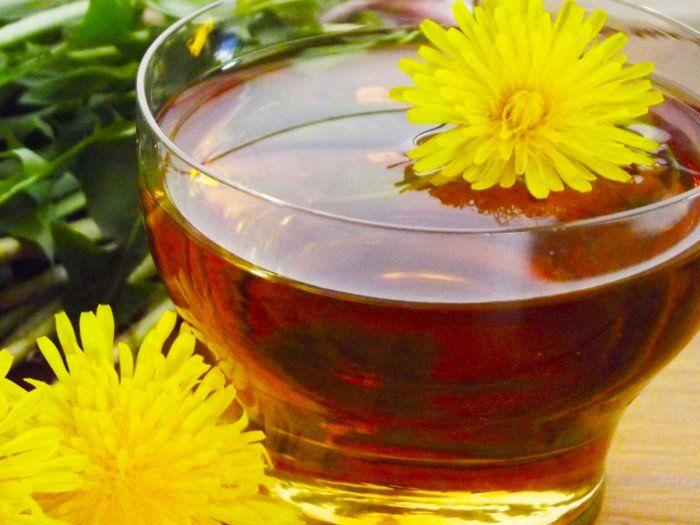 Dandelion Flower Tea Recipe Organic Facts Recipe In 2020 Dandelion Tea Flower Tea Dandelion Leaf Tea