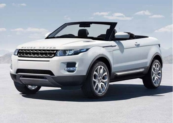 New Land Rover Evoque Convertible | YOUNG DISCOVERY