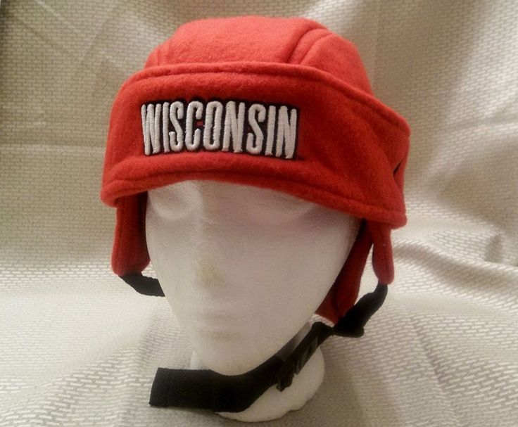 University Of Wisconsin Football Helmet Style Hat Youth/Small Size Zephyr Brand #Zephyr