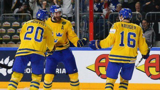 Eishockey-WM: Schweden gewinnt dramatisches Finale gegen Kanada