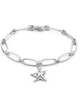 Tiffany Starfish Silver Bracelet