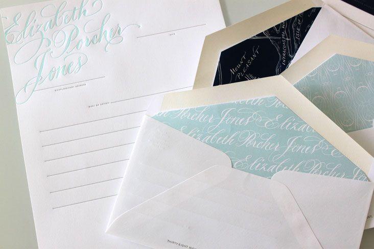 letterpress letterhead (say that ten times fast!)