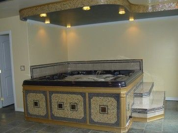hot tubs hot tub room and basement designs on pinterest