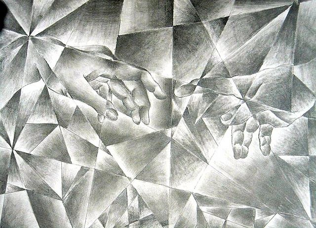 Value In Visual Arts : Best shattered values drawings images on pinterest