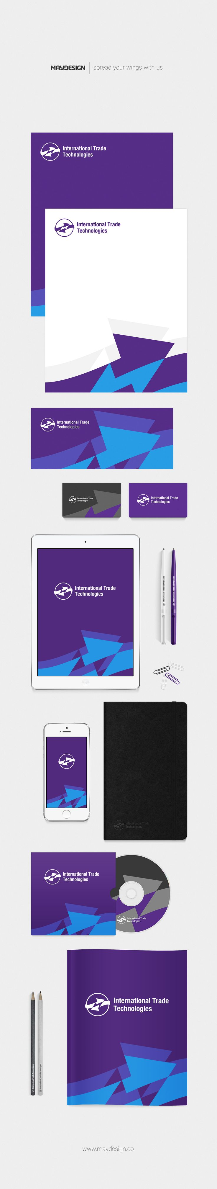 Corporate Identity – International Trade Technologies – 2016 ––– MAYDESIGN http://maydesign.pl