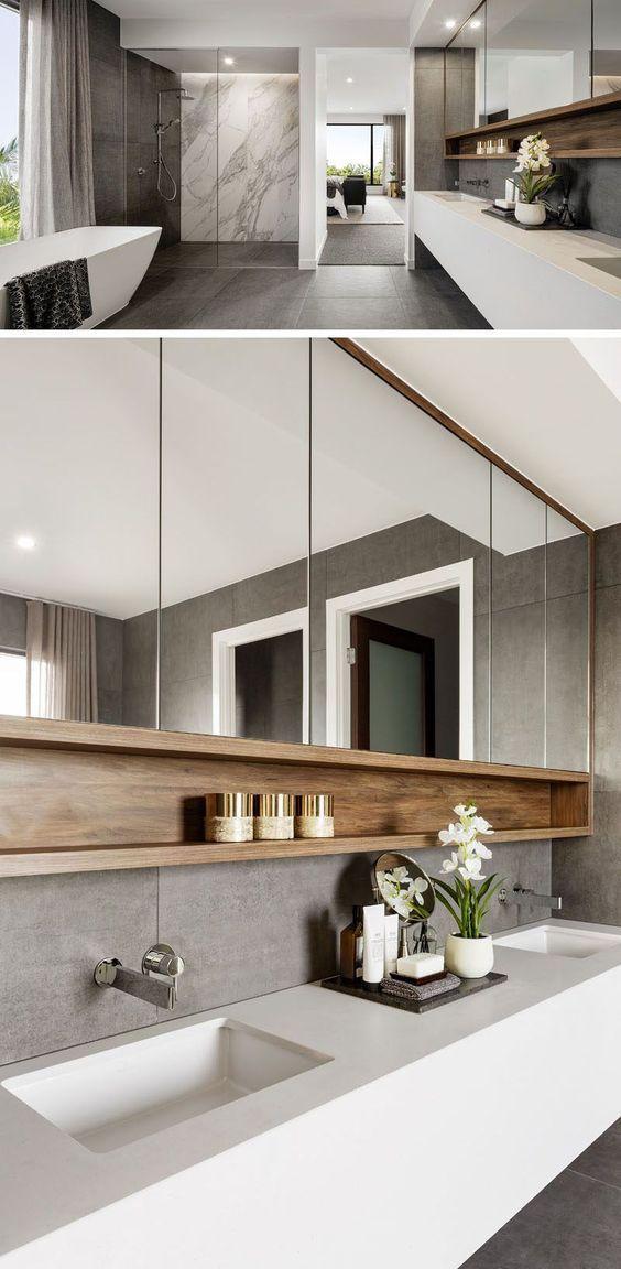 10+ Modern Bathroom Design Ideas – Bilder von zeit…