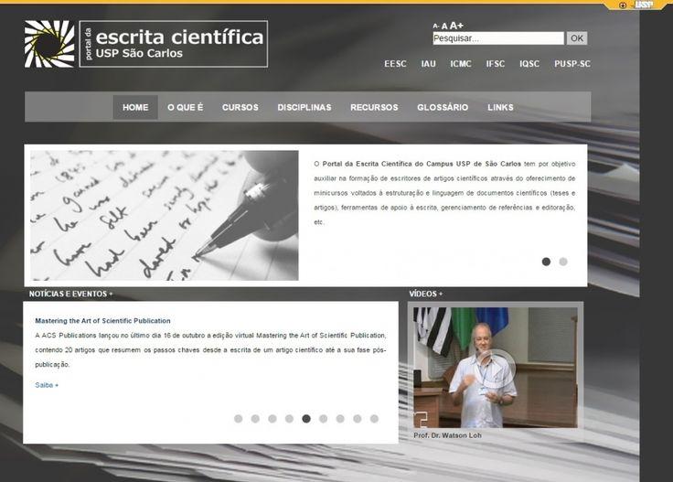 USP de São Carlos oferece ferramentas on-line para redação científica | AGÊNCIA FAPESP