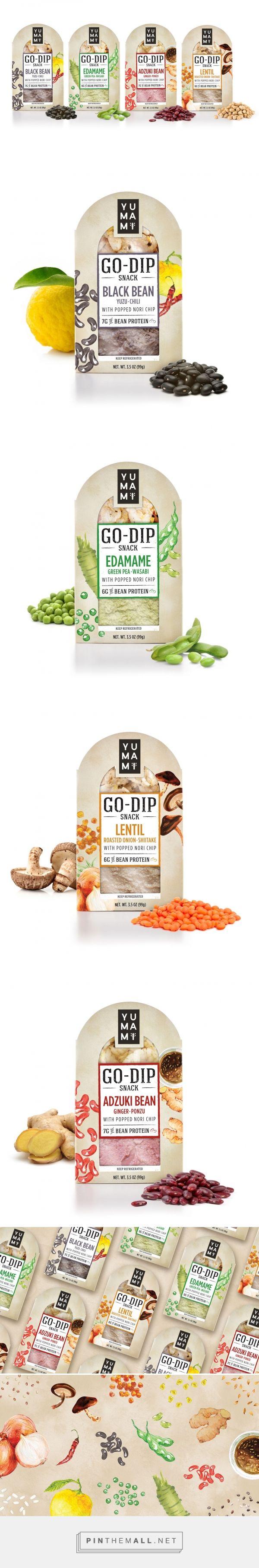 Yumami Go-Dip Snacks - Packaging of the World - Creative Package Design Gallery - http://www.packagingoftheworld.com/2017/06/yumami-go-dip.html - created via https://pinthemall.net