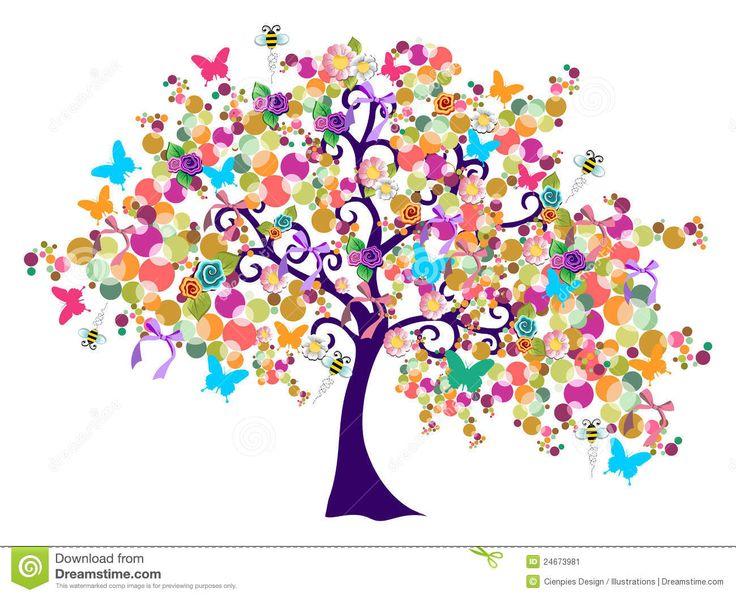 Les 25 meilleures id es de la cat gorie dessin arbre sur - Idee arbre genealogique original ...