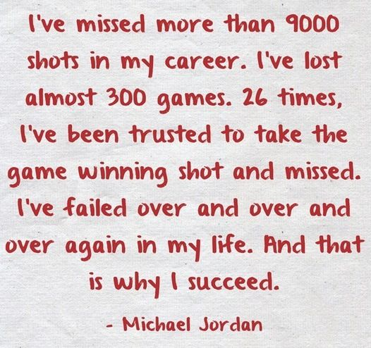 This as a basketball player applies to life and basketball both!!;) make a mistake and learn from it!