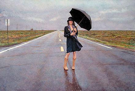 The Road Less Traveled - Steve Hanks - World-Wide-Art.com - $850.00