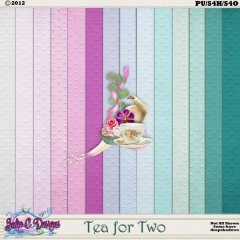 Tea for Two Cardstock